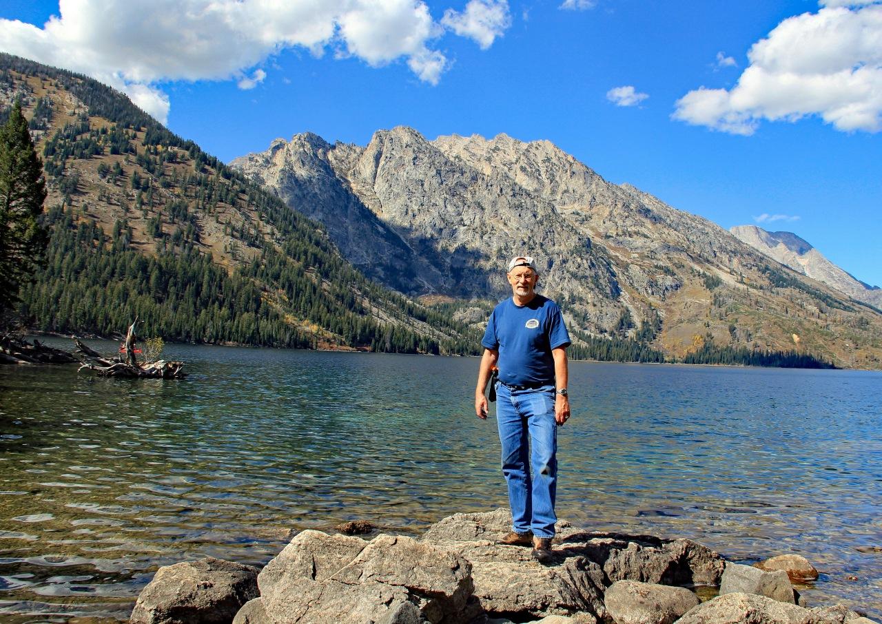 Paul at Jenny Lake