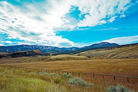Cody Wyoming Countryside