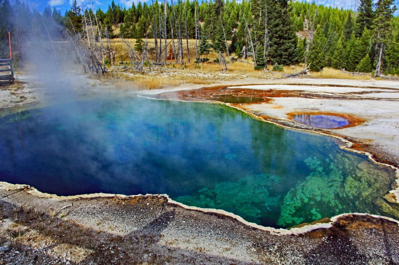 Heart Spring Upper Geyser Basin