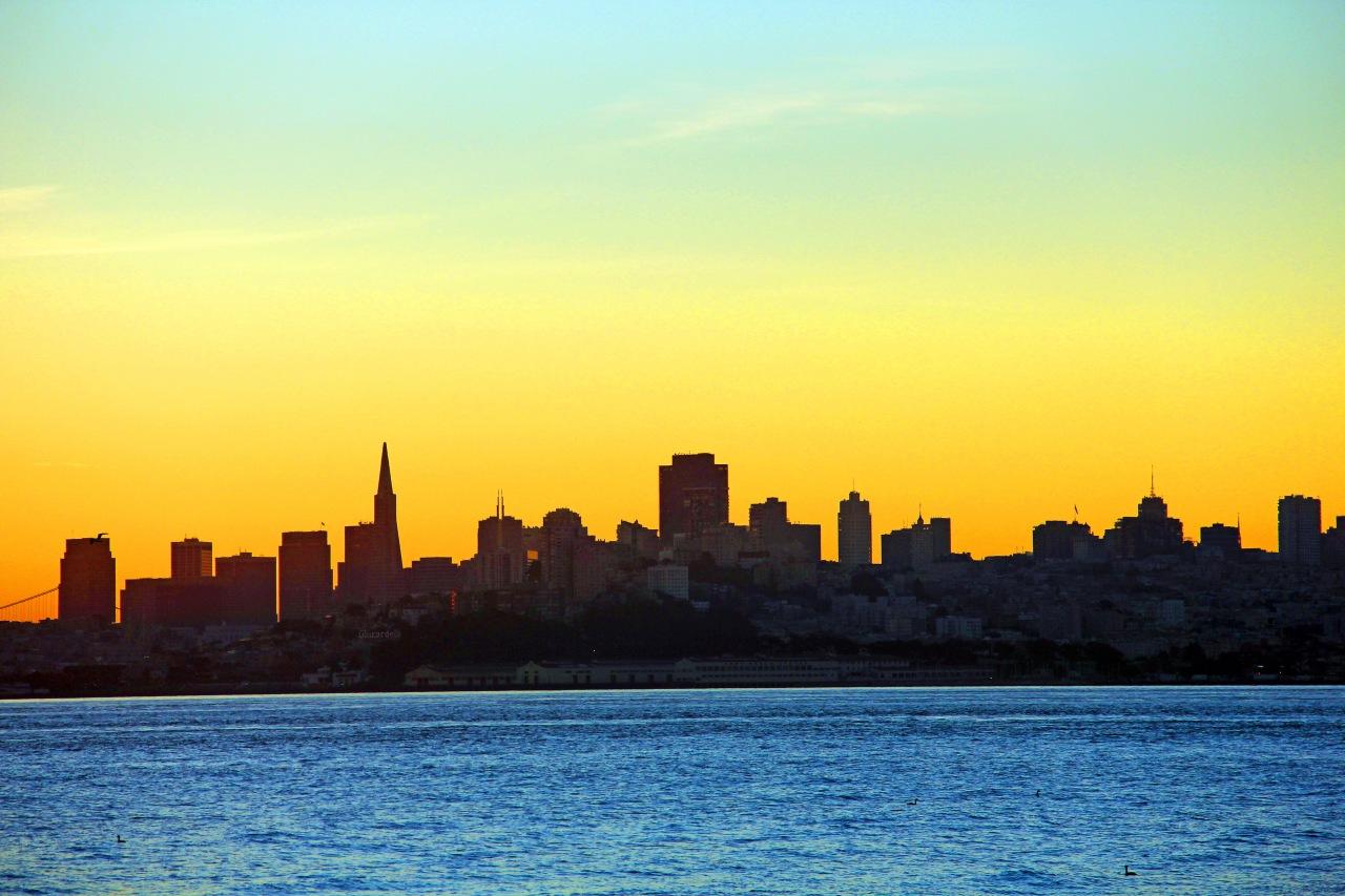 SF Skyline sunrise 1 copy