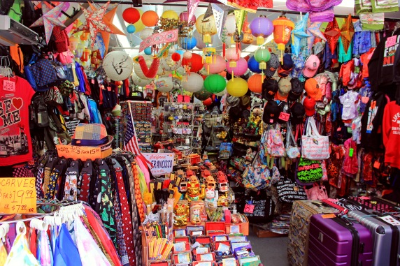Chinatown souvenir shop