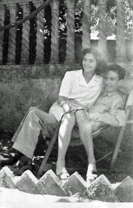Richard and Livia Anderson June 1945 edited