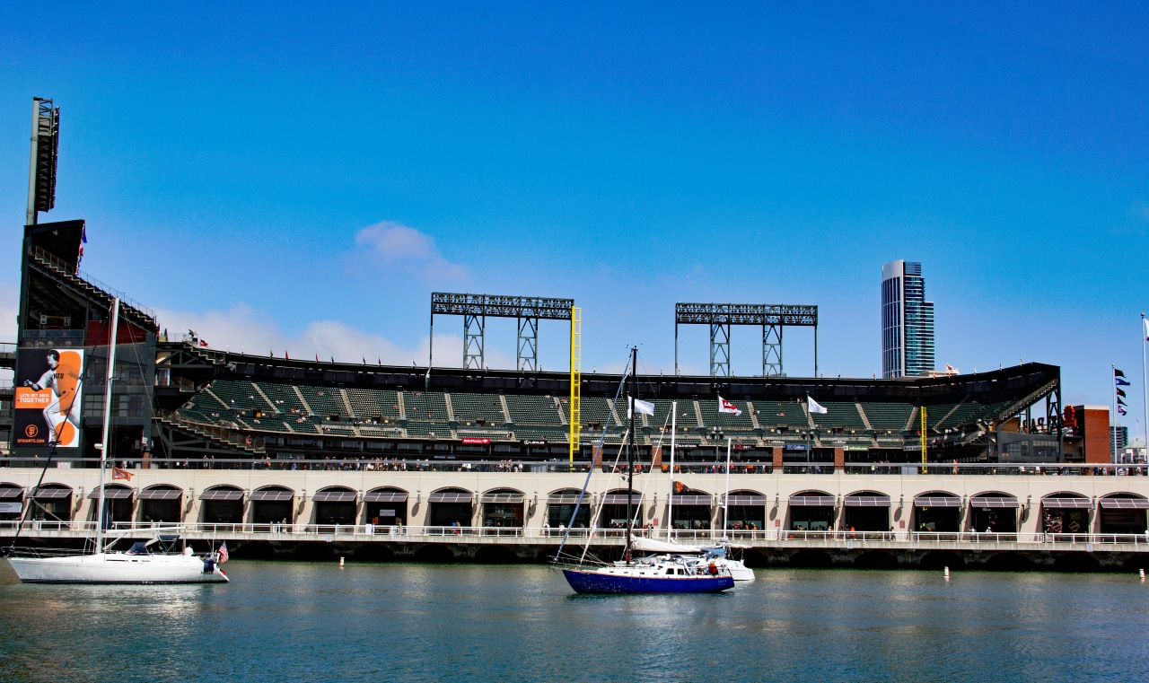 Oracle from McCovey cove